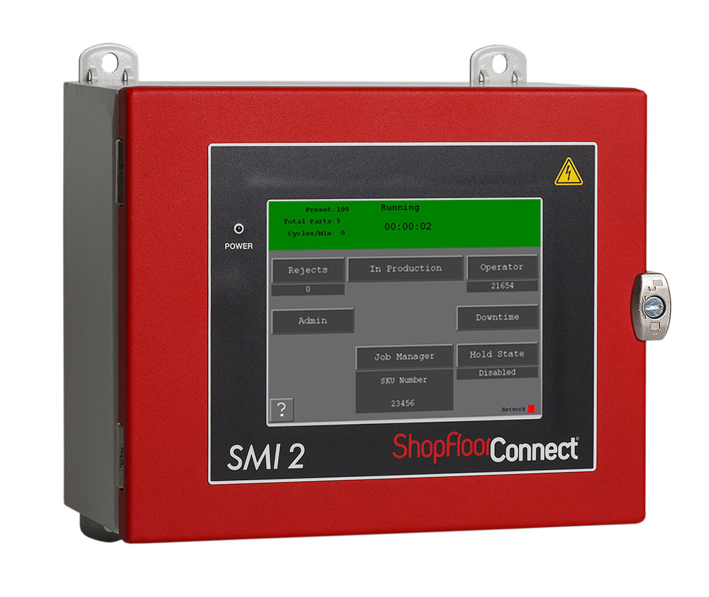 SMI 2 Machine Interface for the ShopFloorConnect monitoring system