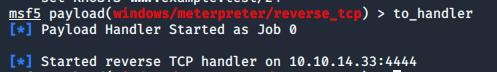 meterpreter-reverse-handler