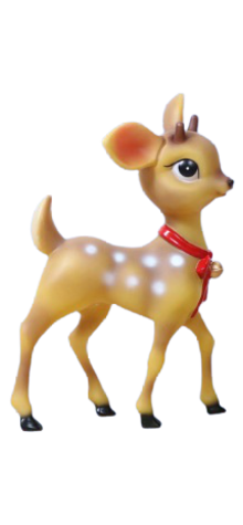 Small Boy Reindeer photo
