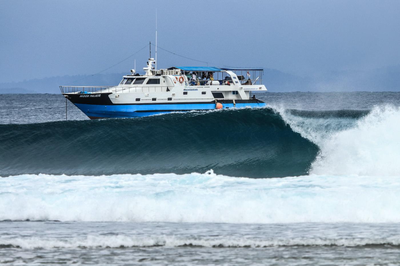Moon Palikir Surf Charter Trips Mentawai or Telos Islands waves