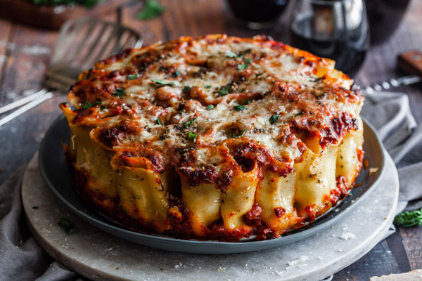 Stuffed Rigatoni Pie (Paccherri)