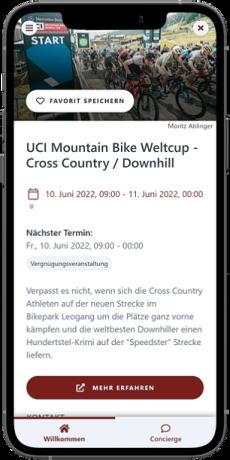 Mountain Bike Weltcup Event