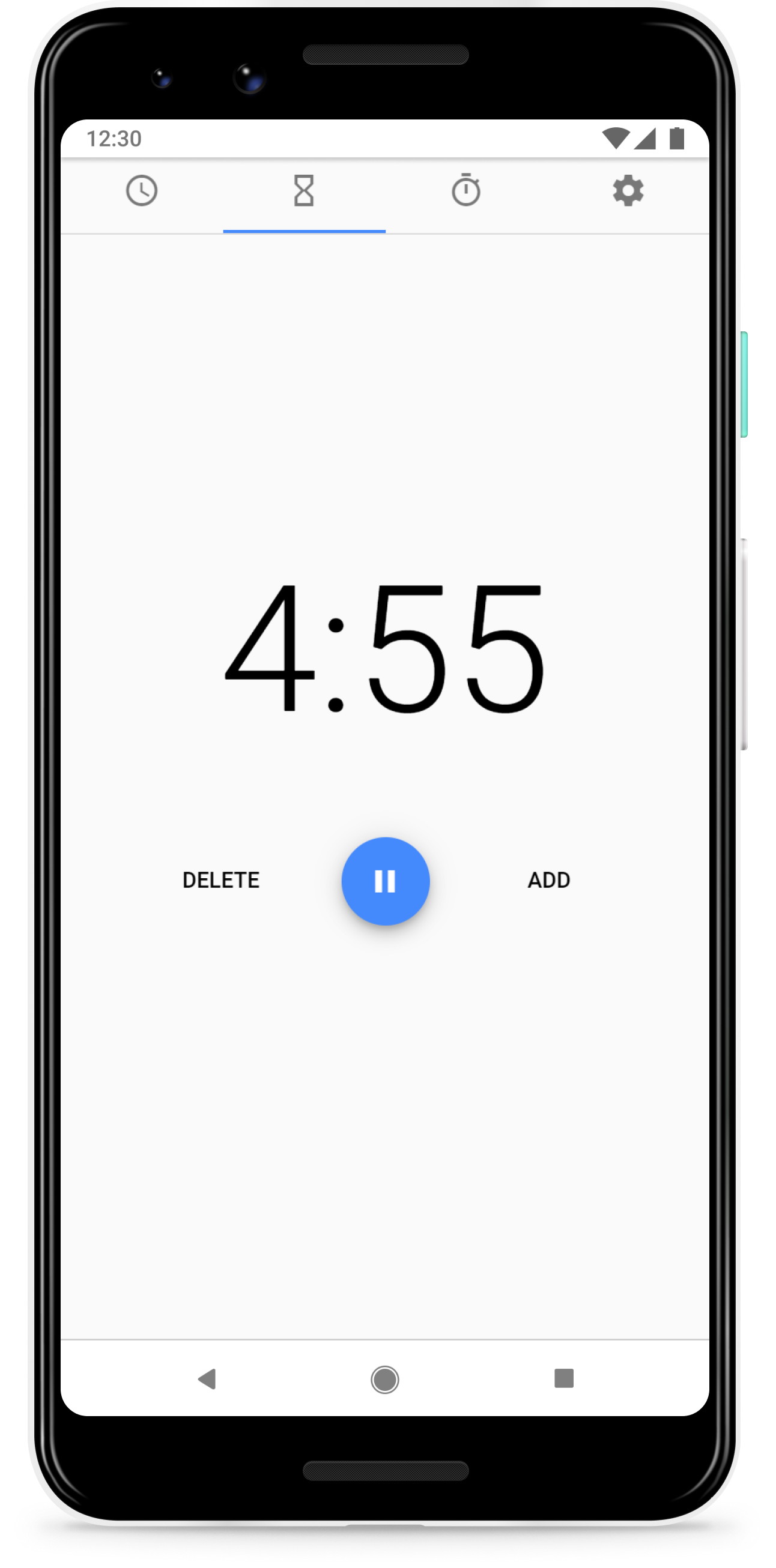 Image of app on a smartphone