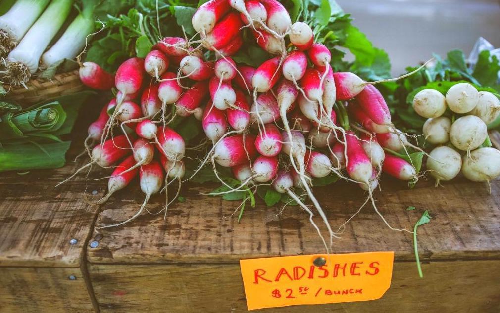 Vegetables for sale at market
