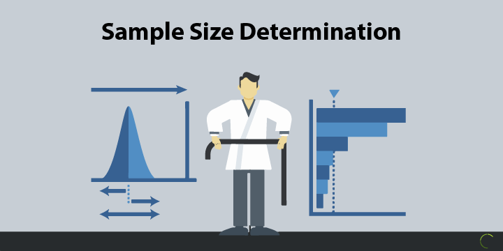 data analysis techniques- sample size determination