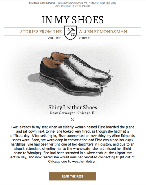 In my shoes testimonial