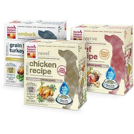 Image of honest kitchen dog food
