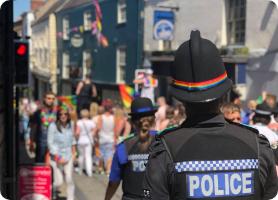 Durham Police at Durham Pride