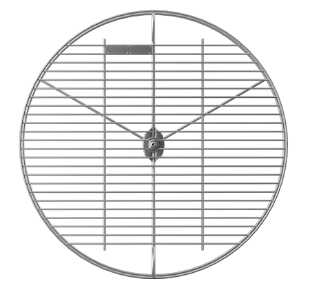 GrillUp™ Height Adjustable Replacement Grill / Grate Cooking Grid - view from top