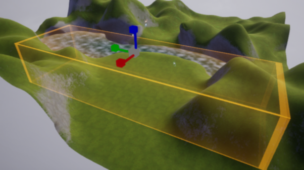 Underwater Post Process Resize