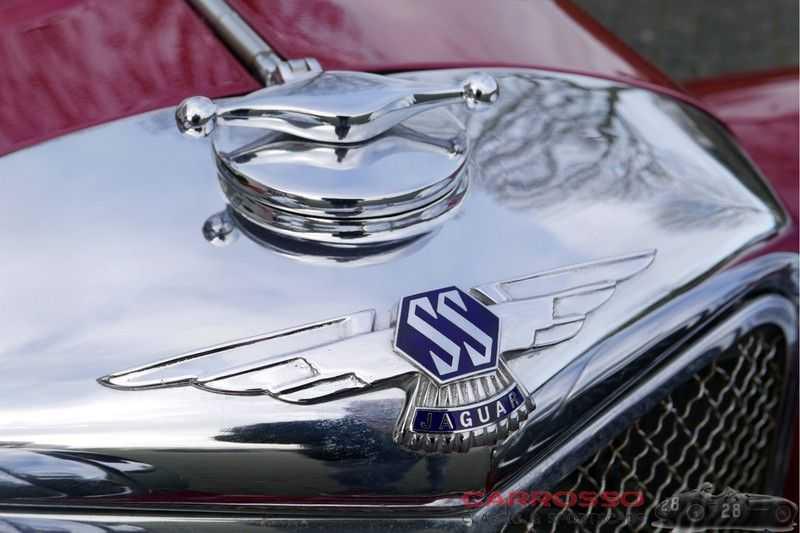 Jaguar SS100 3.5 Roadster / Heritage Trust Certificate / RHD afbeelding 24