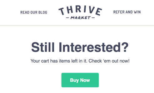 Brand proximity Thrive