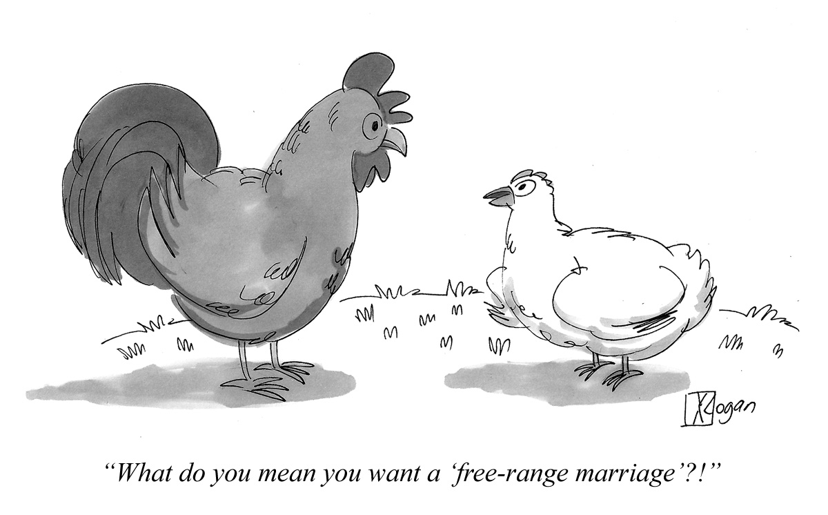 What do you mean you want a 'free-range marriage'?!