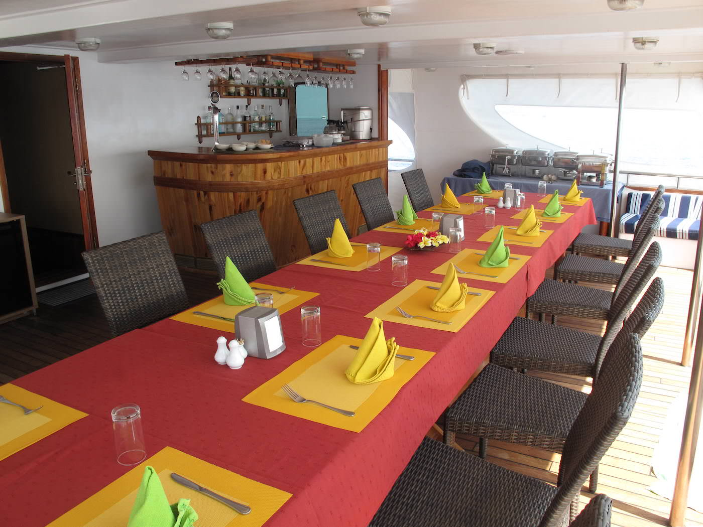 Carpe Diem Boat Charter Maldives Surfing and Diving Dining