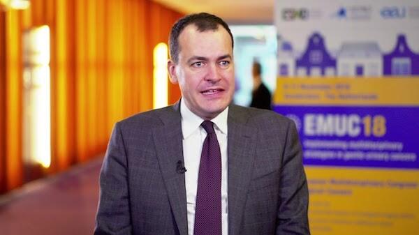 Il Prof. Alberto Briganti parla di cancro alla prostata all'EMUC18