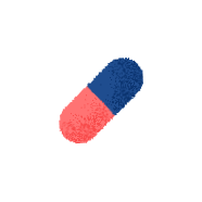 Illustration of a pill