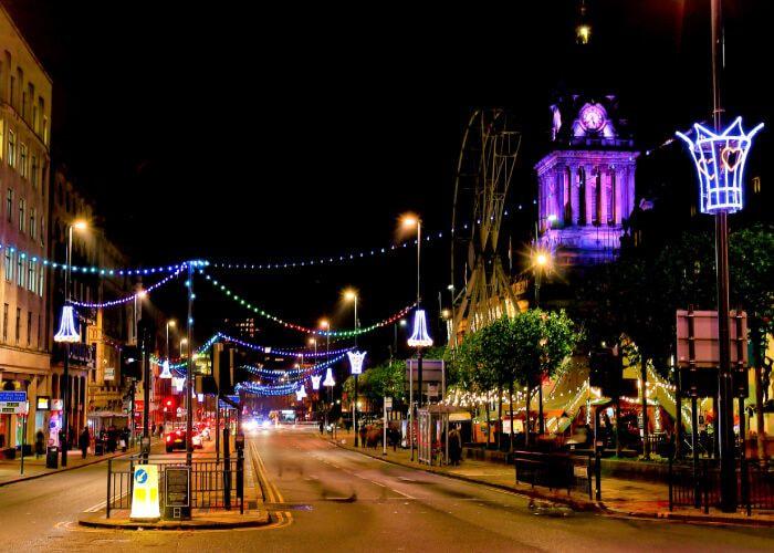 Leeds at Christmas 2020