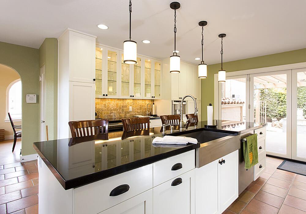 image of custom kitchen remodel