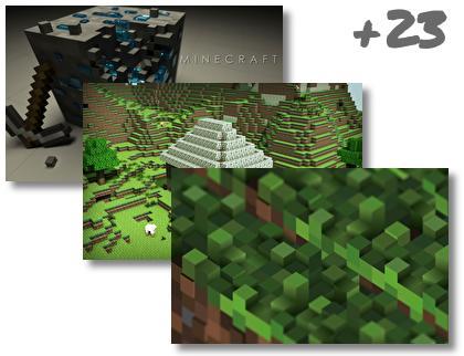 Minecraft theme pack