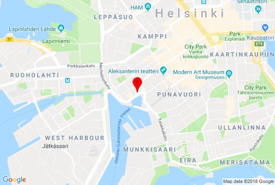 Toughbyte Helsinki Map