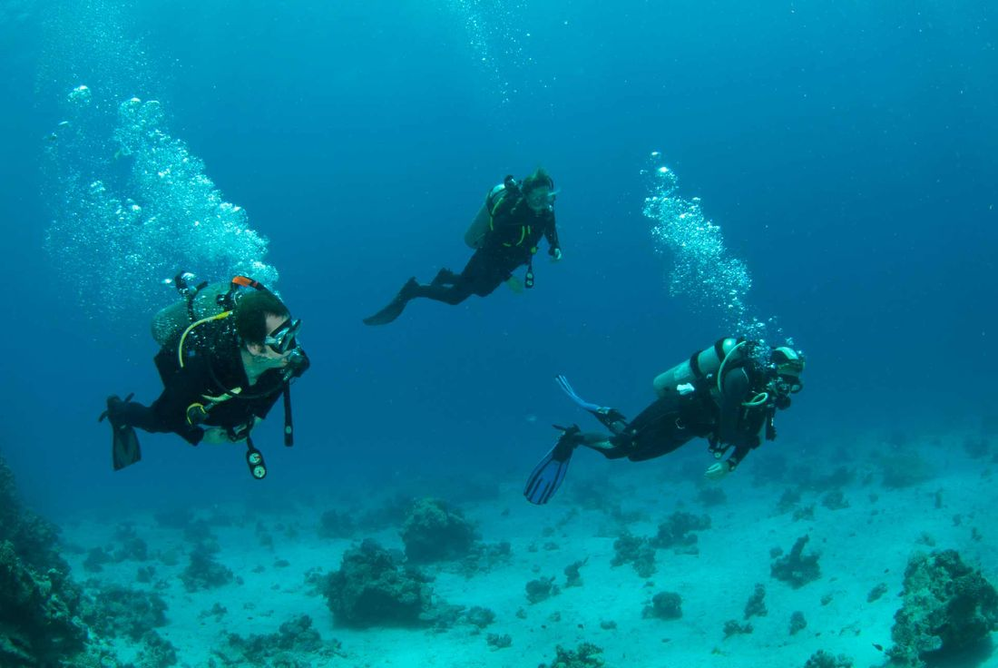 Scuba Diving Paxos