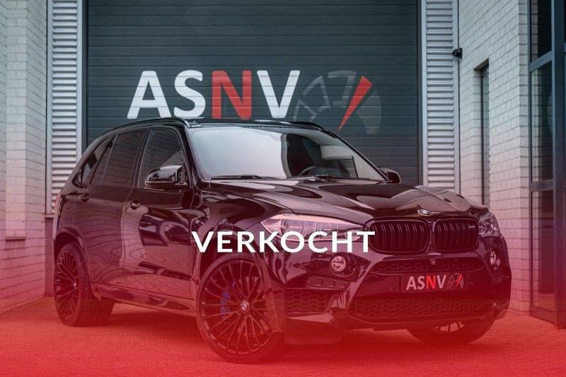 BMW X5 M, 575 PK, Pano/Dak, Leder Merino, Head/Up, Keyless, Soft/Close, Harman/Kardon, Surround View, LED, 22'' Breyton RS, 2016!! afbeelding 1