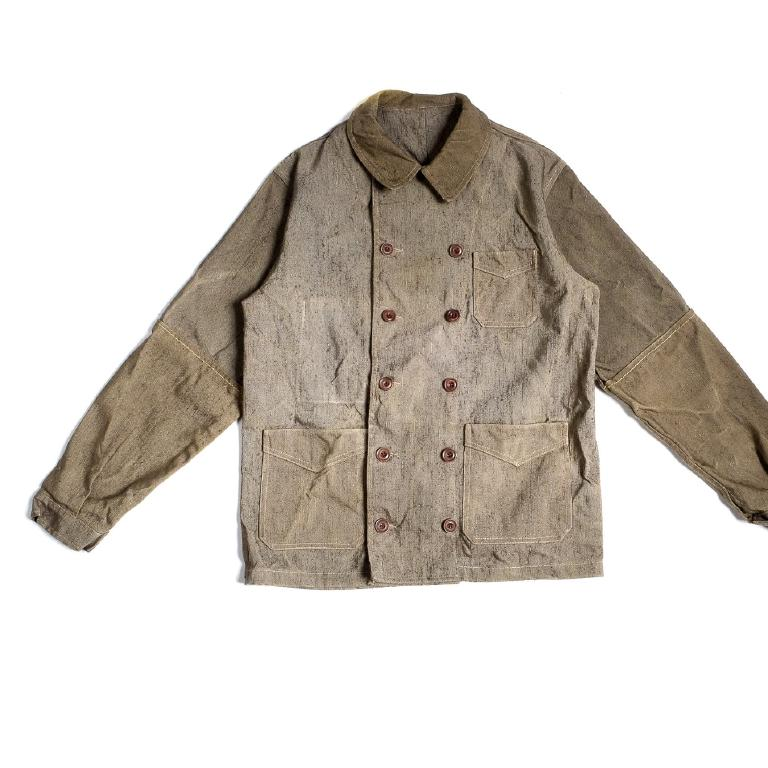 Artist linen canvas jacket