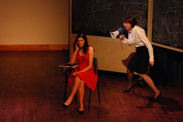 "Laura Nordin and Margaret Evans in ""Dyad"""