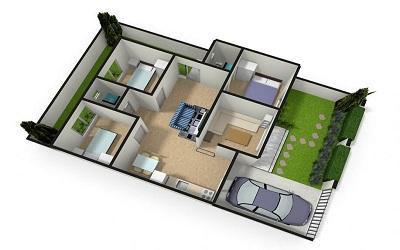 Fungsi Desain Gambar Bangunan