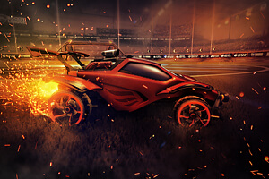Projeto Rocket League - Blaze Wings