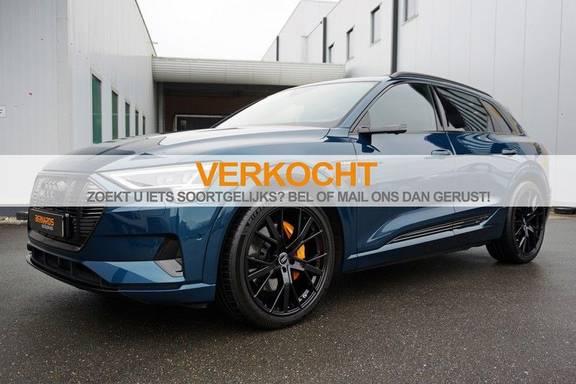 Audi e-tron 55 quattro Black *€184 bijtelling *Verlengde fabrieksgarantie