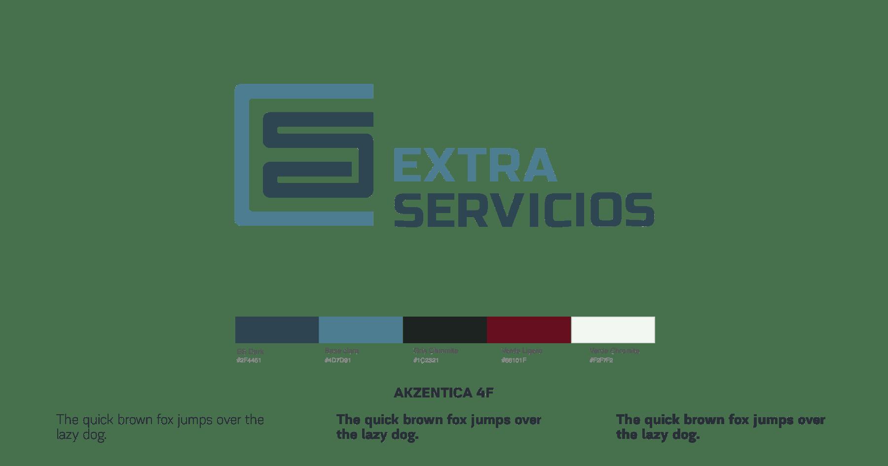 ES logo, colors and fonts