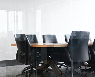 Empty Boardroom Waiting for Compliance Laws