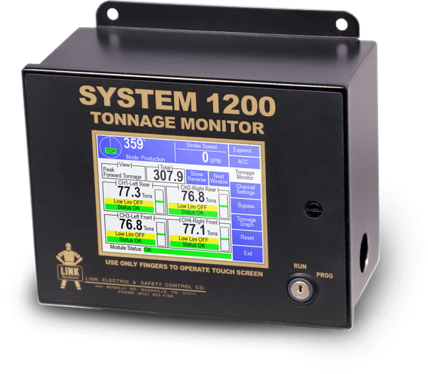 1200 Tonnage Monitor photo