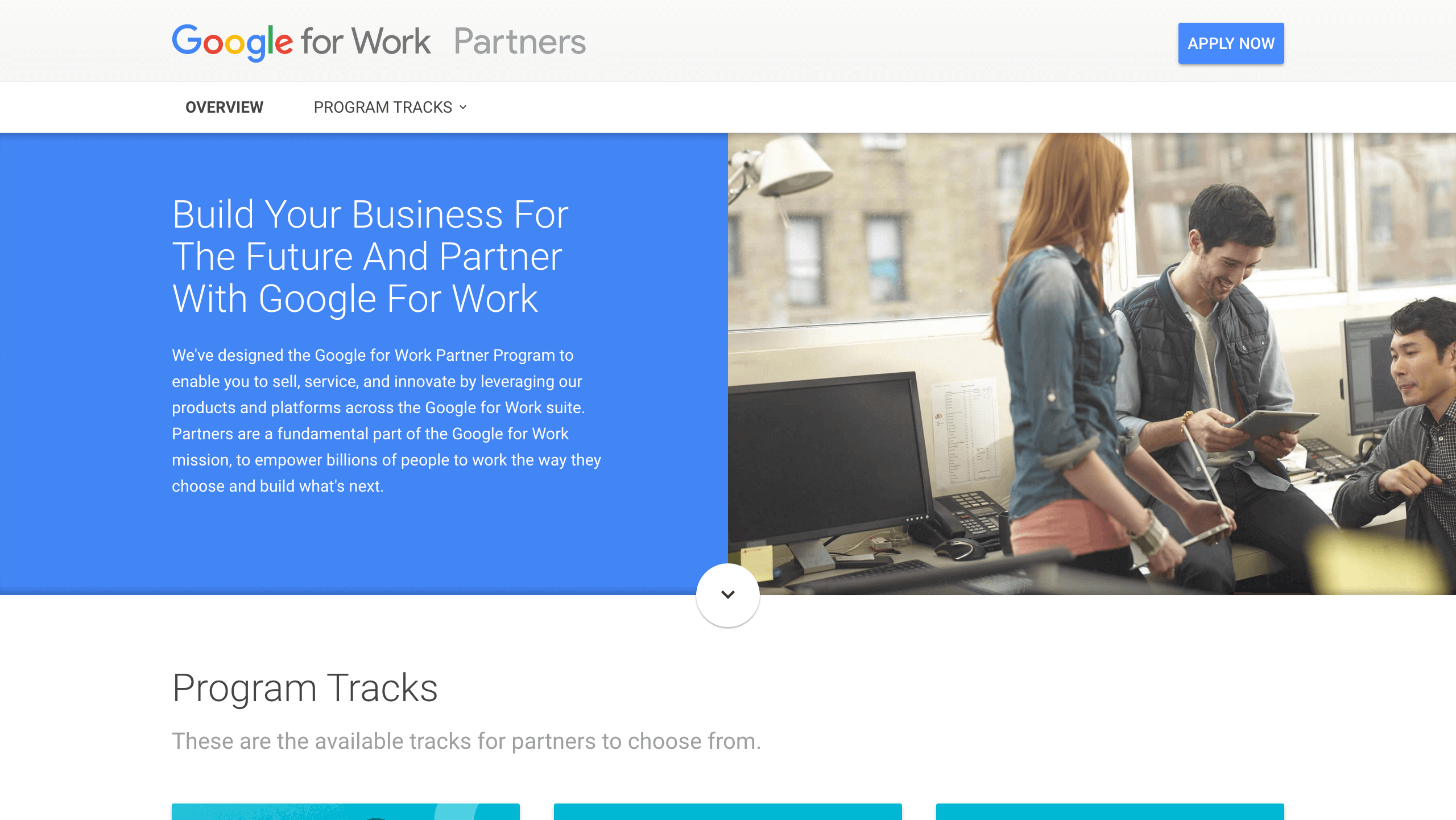 Google for Work: Partners