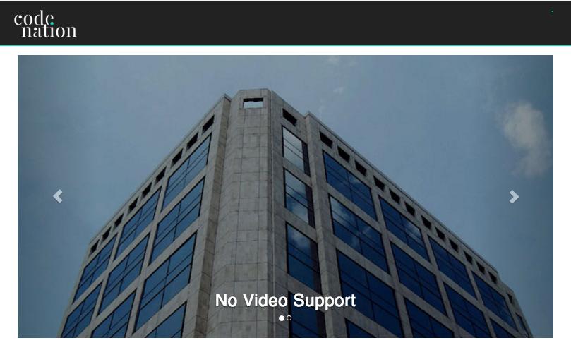 NationBuilder slider with no video support