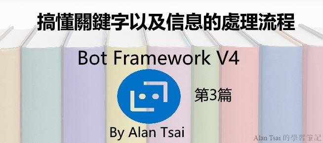 [Bot Framework V4][03]搞懂關鍵字以及信息的處理流程.jpg