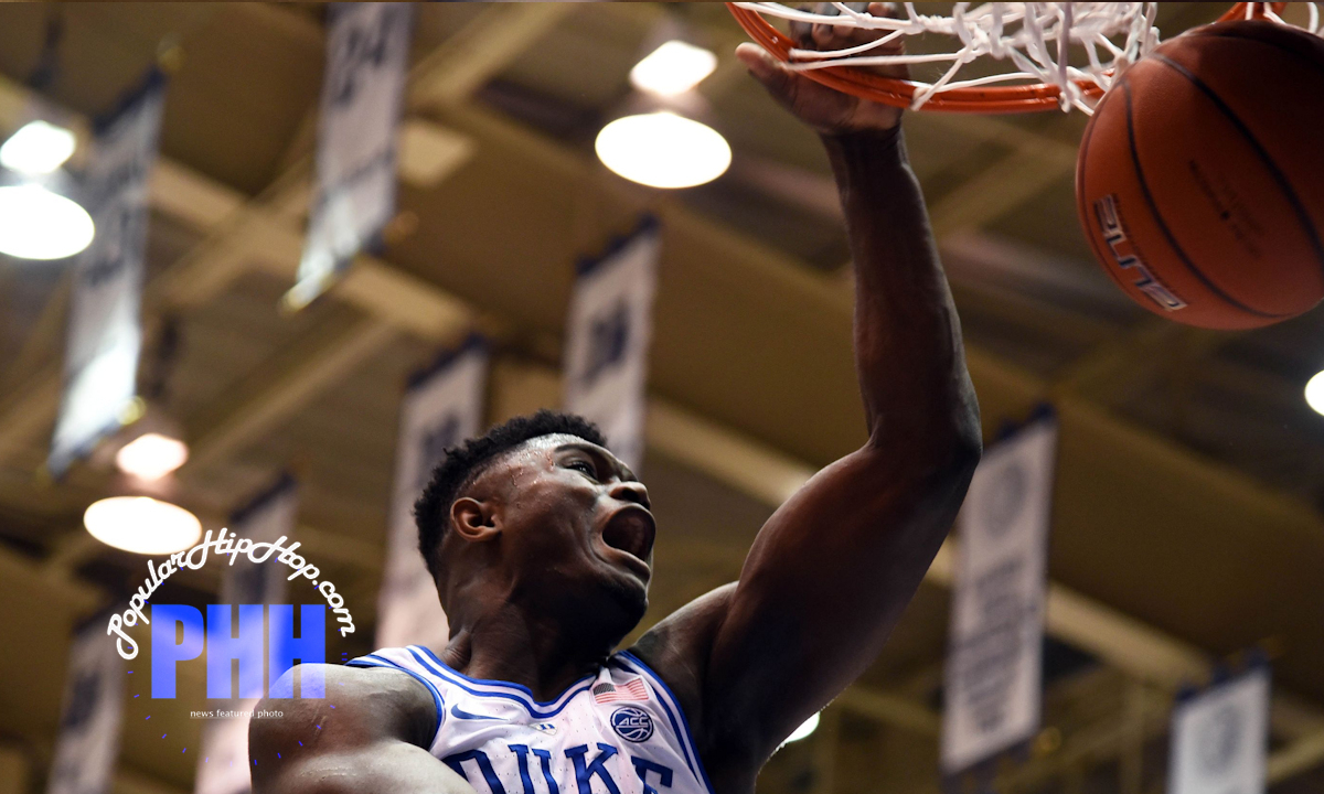 Zion Williamson comitting 'Violence at the Rim' in Duke Blue Devils vs Indiana Hoosiers game (Nov 2018)