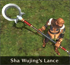 Sha Wujing's Lance