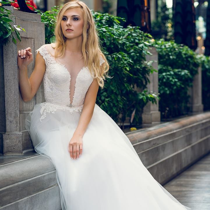 wedding dress montreal haute couture classic