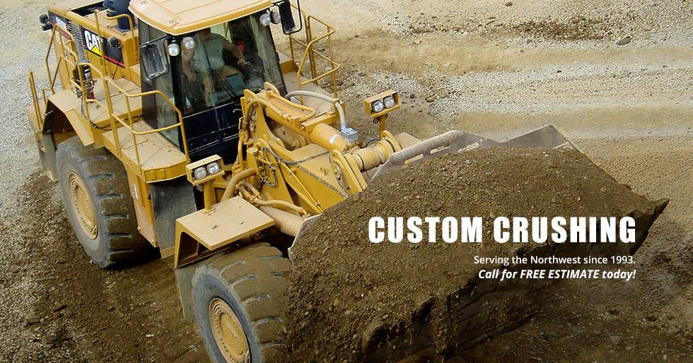 custom crushing