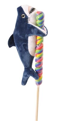 "The Petting Zoo: 8"" Lolly Plush Mako Shark"
