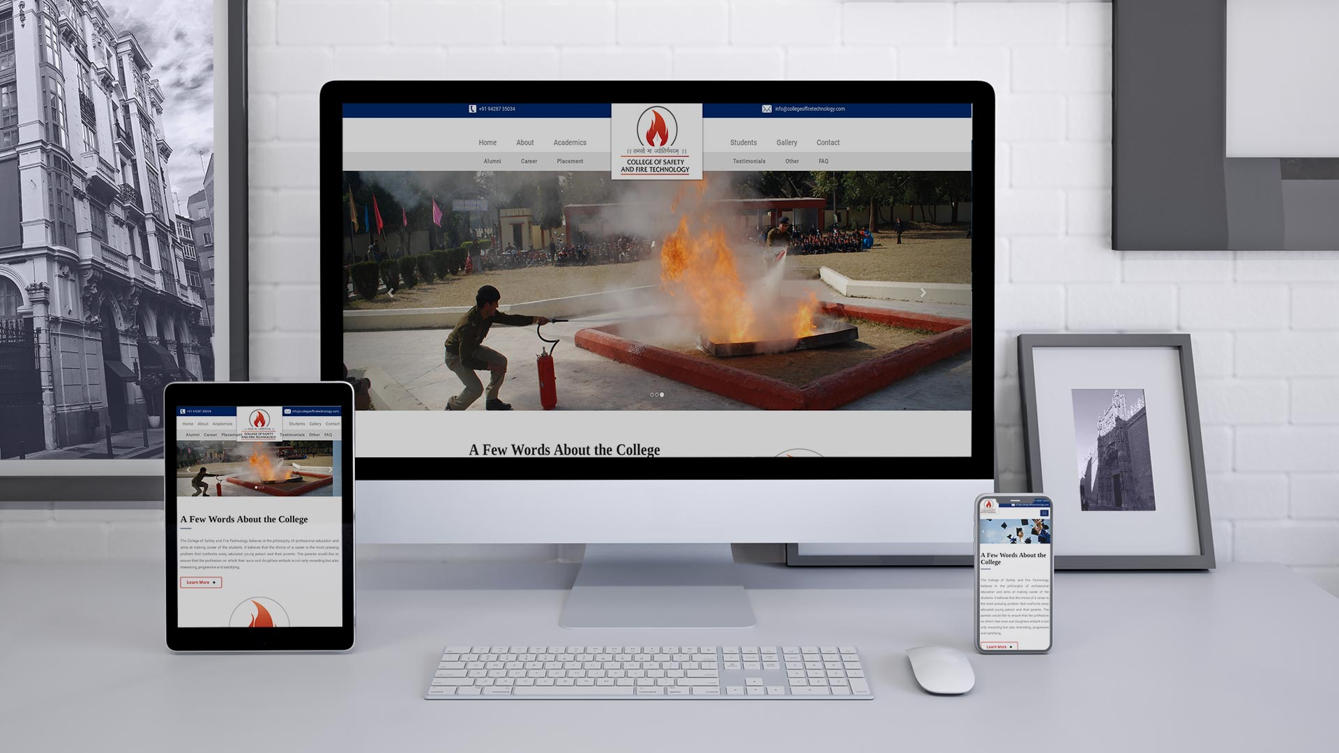Project - College of Fire Technology
