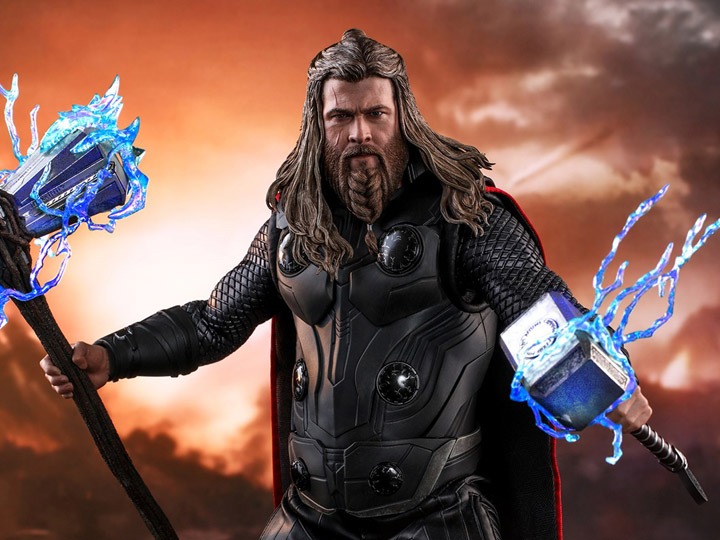 Hot Toys Avengers: Endgame MMS557 Thor 1/6th Scale Collectible Figure