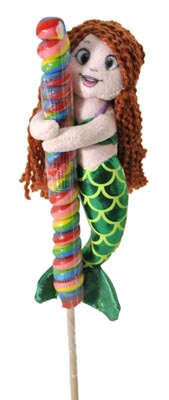 "The Petting Zoo: 9"" Lolly Plush Mermaid"
