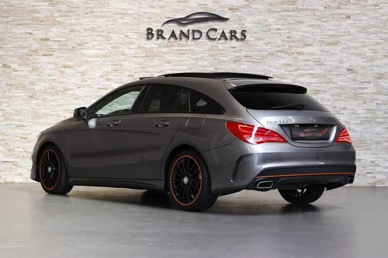Mercedes-Benz CLA-Klasse Shooting Brake 200 OrangeArt Edition | VERKOCHT! | | Panoramadak | Memory stoelen | AMG Pakket | Night Pakket | Achteruitrijcamera | afbeelding 3