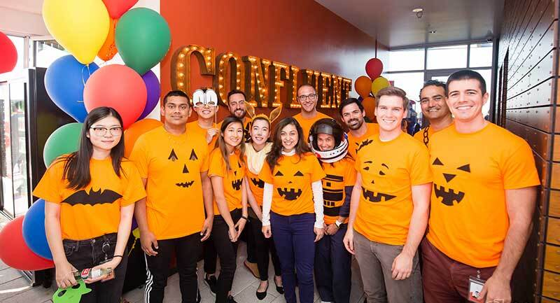 Confluent celebrates halloween