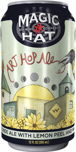 Art Hop Ale Can