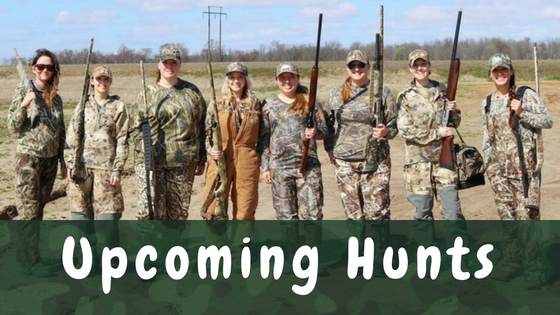 Hen Outdoors Upcoming Women's Hunts