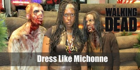 Michonne's outfit is a bit dressy than the other survivors, but the layers offer her more comfort. Here is everything you need to look like Michonnne.